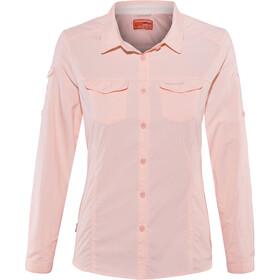 Craghoppers NosiLife Adventure II Longsleeved Shirt Women seashell pink